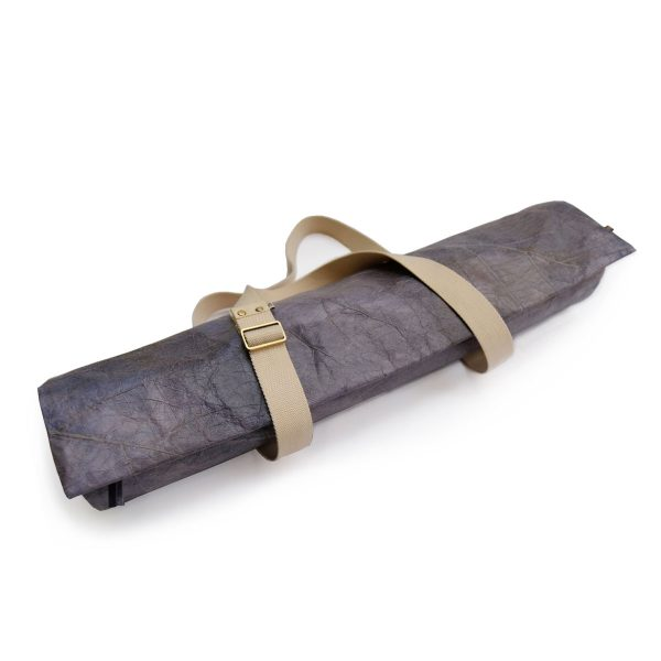Releaf vegan teak leaf yoga mat bag